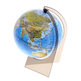 Глобус ландшафтный, 210 мм, на треугольной подставке