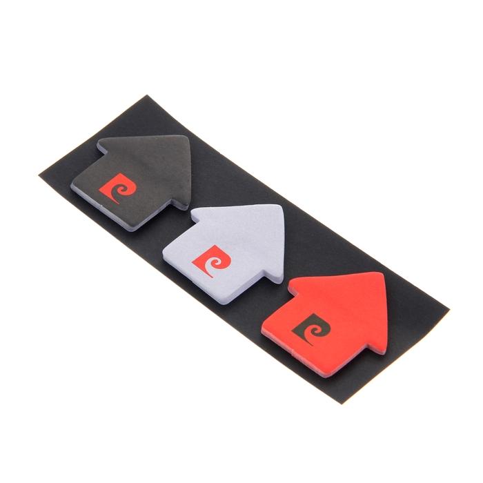 Флажки с клеевым краем фигурные Pierre Cardin 3*30 4.5*4.5см бумажные