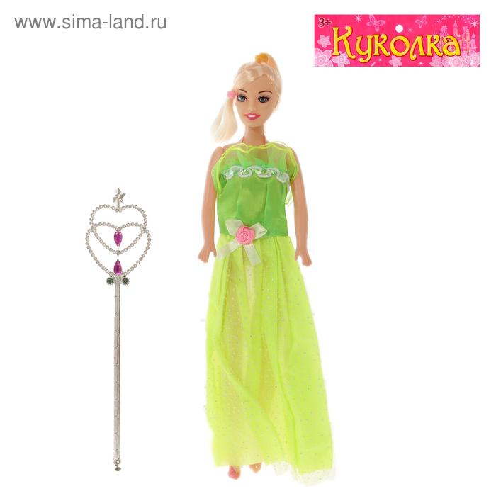"Кукла модель ""Принцесса"" с аксессуарами, МИКС"