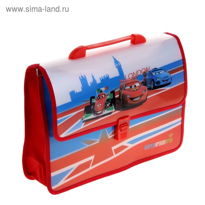 Папка-портфель А4 Disney «Тачки-2», обшитый 4254923