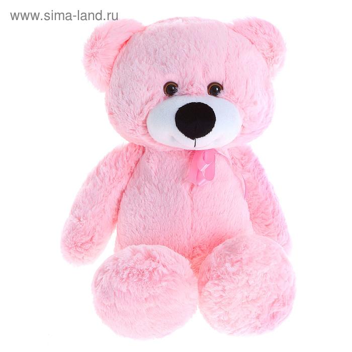 """Мягкая игрушка """"Медвежонок Эдди"""", розовый"""