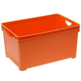 Ящик для хранения 48 л, 55,7×36,9×28,6 см, цвет МИКС