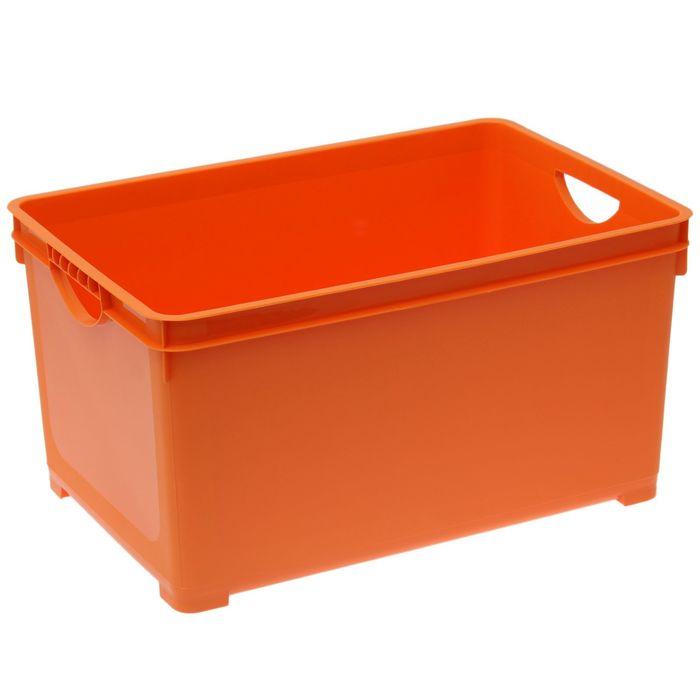 Ящик для хранения 48 л, цвет МИКС