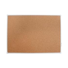 Доска с пробковым покрытием 60х90см, в алюминиевом профиле, серия LINE Ош