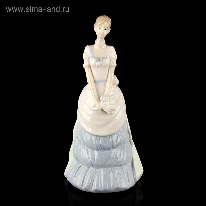 """Сувенир """"Девушка в платье с бантом"""""""