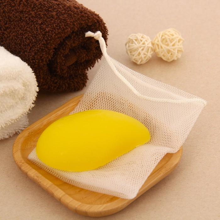 """Набор подарочный """"Релакс"""" (мыло 70 г. + мешочек), манго"""