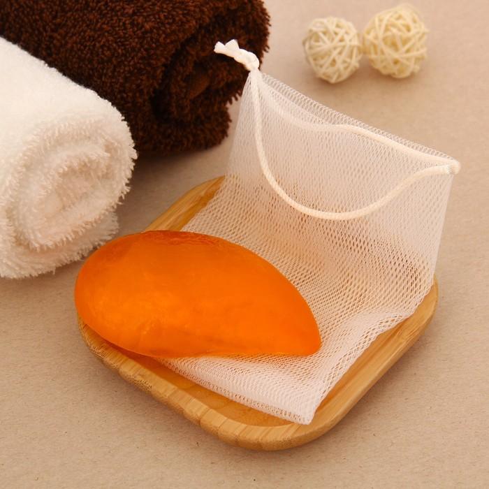 """Набор подарочный """"Релакс"""" (мыло 70 г. + мешочек), мёд"""