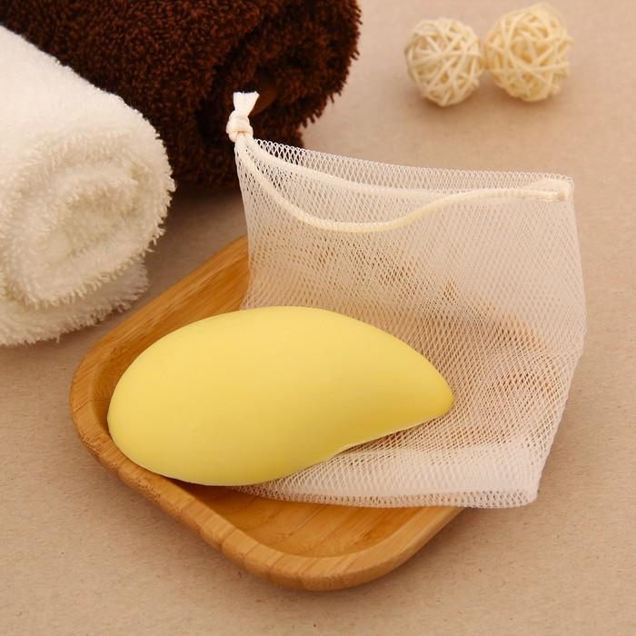 """Набор подарочный """"Релакс"""" (мыло 70 г. + мешочек), лимон"""