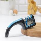 Точилка для ножей (металл, керамика) и ножниц, полировка, 22×8×6 см, цвет МИКС
