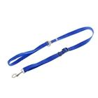 Поводок и автомобильный ремень безопасности 2 в 1, 75-100 х 2 см, синий