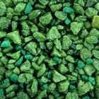 Грунт для аквариума, мраморная крошка салатово-зеленая 2-5 мм, 3,5 кг