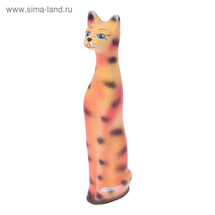 """Копилка """"Кот"""" малая, флок, тигровая"""