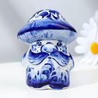 "Souvenir ""Father Mushroom"", 9 cm, Gzhel"
