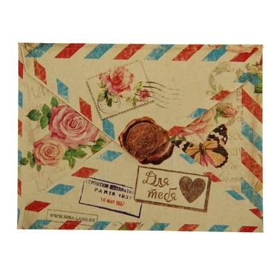 Конверт подарочный «Париж», 7,5 × 9,8 см