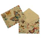 Конверт подарочный «Бабочки», 7,5 × 9,8 см