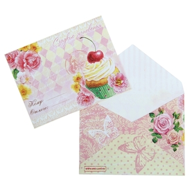 """Envelope the gift of """"Sweet"""" is, 7.5 × 9.8 cm"""