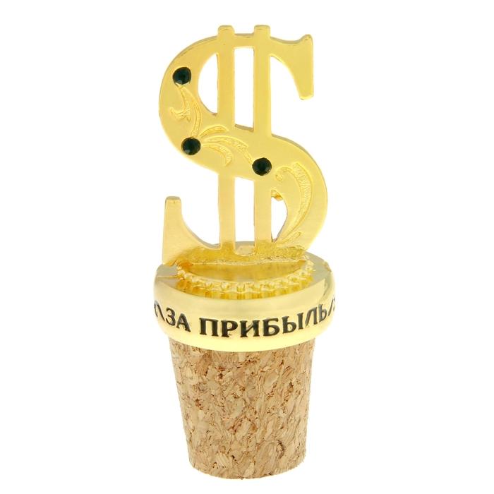 """Декоративная пробка """"За прибыль"""""""
