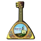 "Magnet in the shape of the balalaika ""Nizhniy Tagil"""