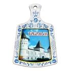 "Magnet in the form of a kitchen Board ""Tobolsk"""