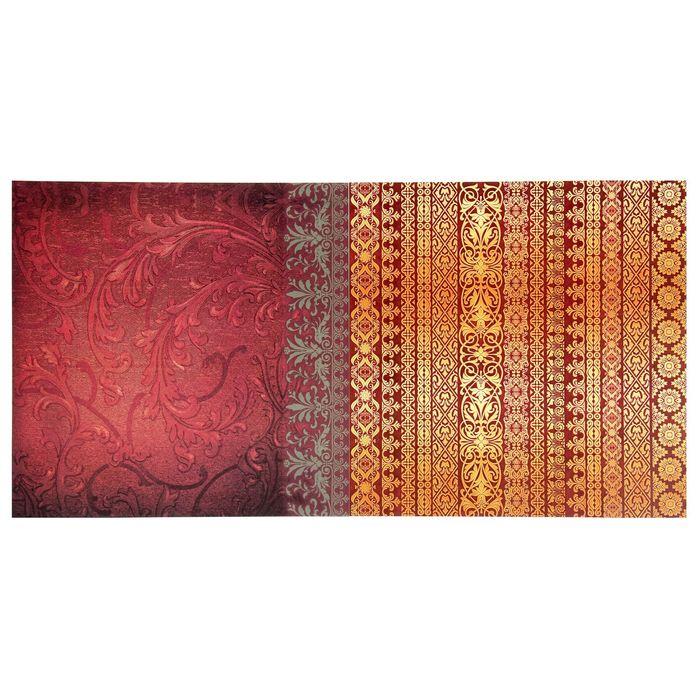 Набор бумаги для скрапбукинга «Королевский шик», 12 листов, 29,5 х 29,5 см, 160 г/м