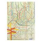 "Decoupage card ""Travel"", 21 x 29,7 cm"