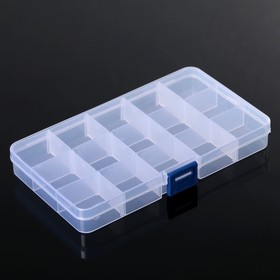 The storage box 15 compartments, MIX color