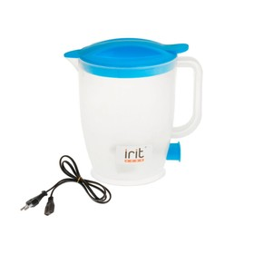 Чайник электрический Irit IR-1121, 550 Вт, 1 л, пластик, синий