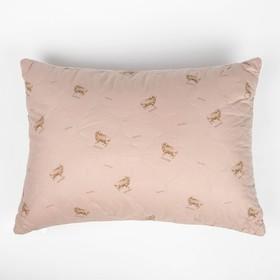 "Подушка Адамас ""Овечья шерсть"", размер 50х70 см, чехол тик"