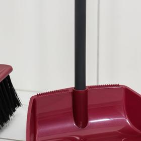 Набор для уборки «Ленивка»: щётка и совок, цвет МИКС - фото 4646728