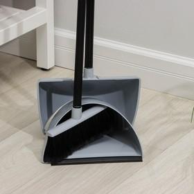Набор для уборки Original, 2 предмета: щетка для пола, совок, цвет МИКС - фото 4646732