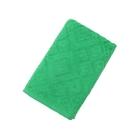 Полотенце махровое ITUMA жаккардовое, размер 50х100 см, цвет зелёный, 380 г/м²