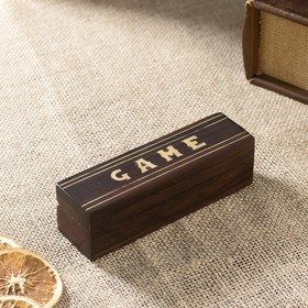 """Набор кубиков """"Гейм"""", 5 шт. в шкатулке"""