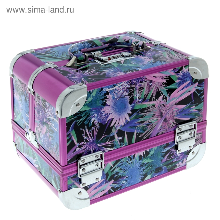 """Шкатулка """"Фиолетовые цветы"""""""