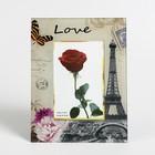 """Photo frame """"Love in Paris"""" 10x15 cm"""