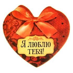 Аромасаше фигурное 'Я тебя люблю' с ароматом ванили и шоколада Ош