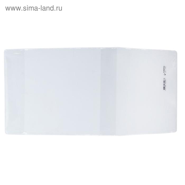 Обложка ПВХ 222 х 450 мм, 100 мкм, для рабочей тетрадей и дидактических материалов, универсальная