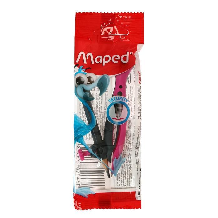 """Циркуль универсальный держатель """"козья ножка"""" Maped Essentials пластик 120мм блистер"""