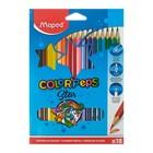 Карандаши трехгранные 18 цветов Color Peps
