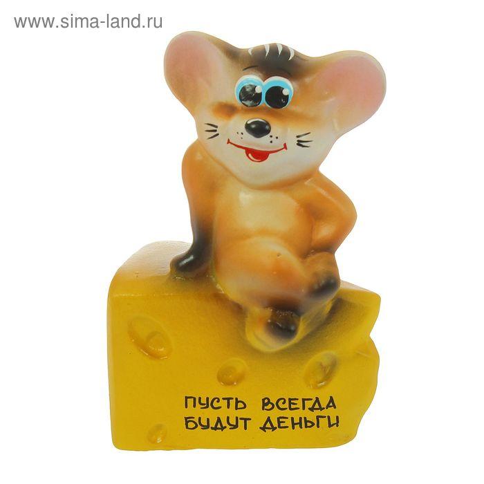 """Копилка """"Мышь с подарком"""""""