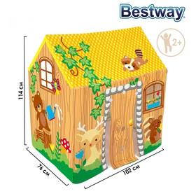 Игровой домик-палатка, 102 х 76 х 114 см, от 2-6 лет, 52007 Bestway Ош