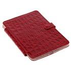 Чехол для электронных книг и планшетов 10.3 красный крокодил