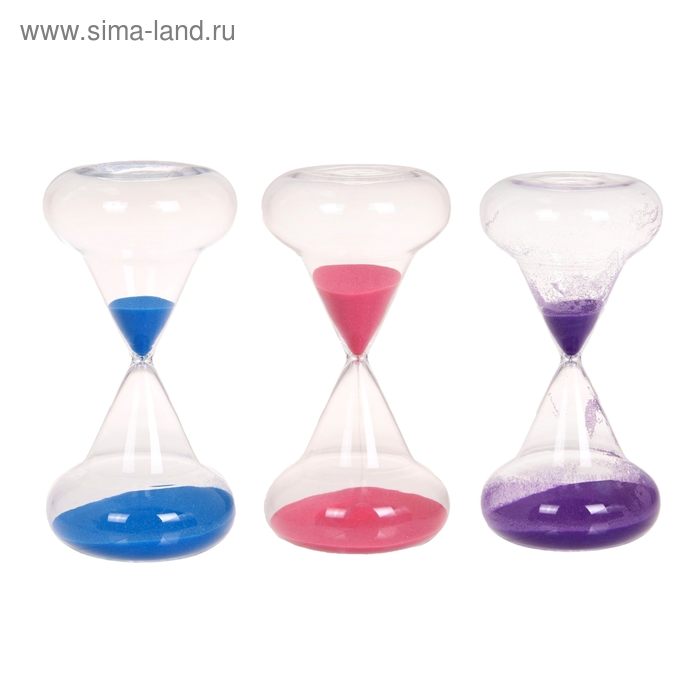 """Часы песочные 30 минут """"Классика"""", цвета МИКС"""