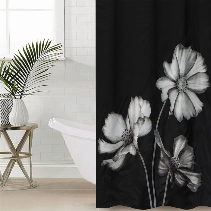 "Blind for the bathroom 180х180, see the ""Gerbera"", EVA"
