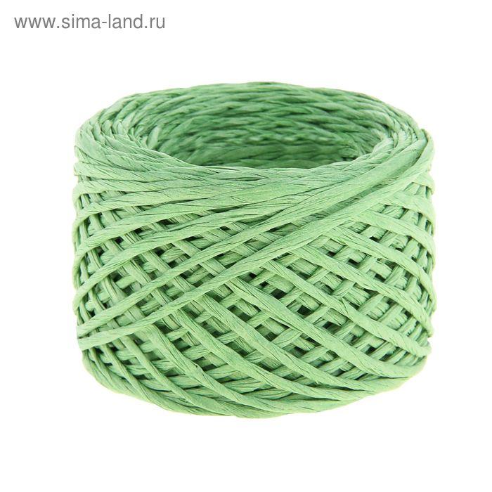 Шпагат декоративный, цвет зеленый