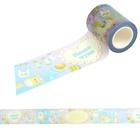 Лента клейкая декоративная бумажная «Малыши», 5 см × 10 м