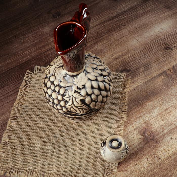 """Набор винный """"Кувшин Плетенка"""", 7 предметов, 1,2 л"""