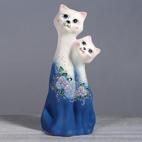 """Копилка """"Коты Сладкая пара"""", под шамот, 40 см, микс"""