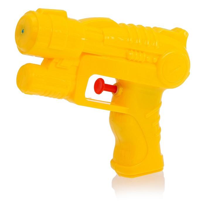 """Пистолет водный """"Пушка"""", с эксклюзивными наклейками, цвета МИКС"""