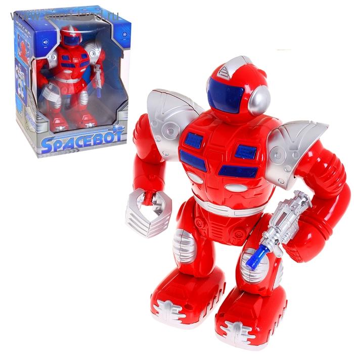 Робот Spacebot, световые и звуковые эффекты, работает от батареек