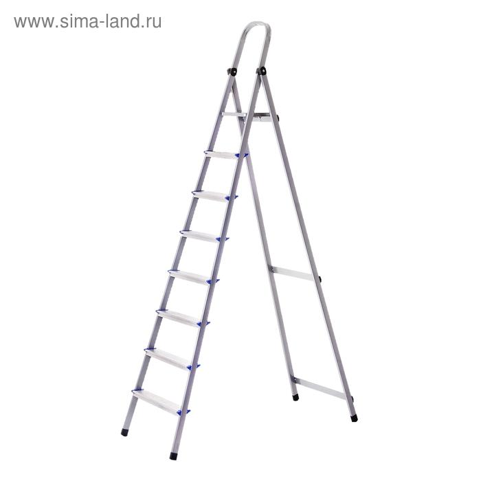 Стремянка алюминиевая TUNDRA basic, 8 ступеней